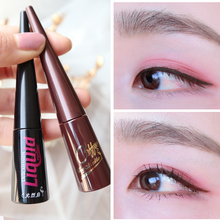 Real Flamingo eyeliner, female, long lasting, waterproof, novice, beginner, brown, thin head, very fine eyeliner.