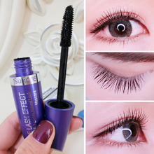 Net red vibrato with the same Mascara female waterproof fiber long curled lengthened encryption super long dense type non staining lasting.