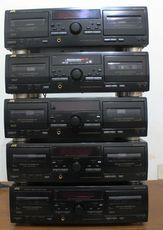 Касестный магнитофон JVC TD-W254BK