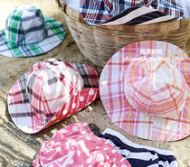 PBK baby Beach Hat Sun Hat Sun Hat cotton quilt can be washed on both sides trade wearing shorts