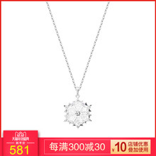 New Swarovski Aesthetic Snowflake Romantic Necklace Lady Clavicle Chain Jewelry 5428432