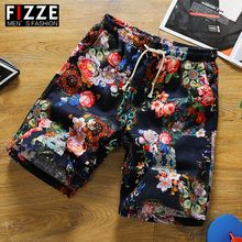 Summer new casual print men's 5-point pants 5-point shorts