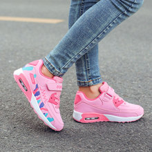 Girls sports shoes 2018 autumn new style winter shoes, two cotton shoes, children's shoes