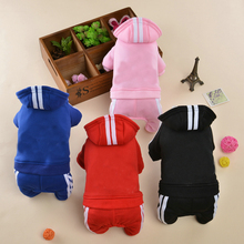 Four-legged clothes for packaged dogs, autumn and winter pet clothes, Teddy VIP's small summer puppy fighting clothes