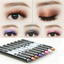 HY/ red glaze, eye shadow, pink chalk stick, pearlescent, single lazy person, easy to get on the ground, waterproof, beginner, natural eye makeup.