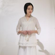 Блузка в китайском национальном стиле Nianhuaweixiao