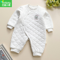 Baby 1 year old baby newborn spring autumn and winter cotton coat