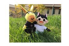 Плюшевые аниме-подушки/игрушки