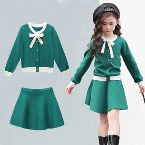 女童秋装套装2017新款韩版中大童洋气时髦小女孩秋季儿童装两件套女童秋装套装
