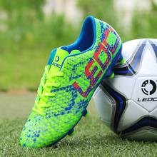 C romexi football shoes children's and boys' and girls' students' grass adult TF nail breaking football training shoes