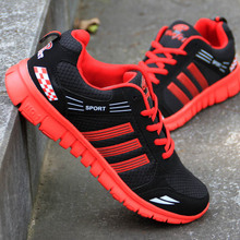 Autumn student's men's shoes mesh men's ultra light running shoes jogging shoes breathable casual shoes traveling shoes sports shoes