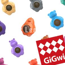 Набор игрушек для животных Gigwi