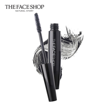 Thefaceshop THE FACE SHOP waterproof mascara is long, thick and curly.