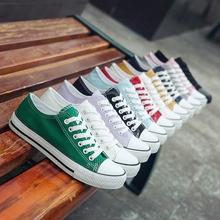 Canvas Shoes Female Black Uzzang Korean Plate Shoes Female Autumn Students Hundred Sets of Small White Shoes Female Tide Shoes 2019