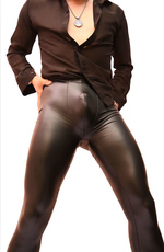 Leather pants Charm of color NK32