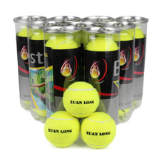 Three authentic tennis ball wear-resisting single-person exercises massage fitness children