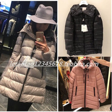 Moncler buying classic hat and autumn winter down jacket