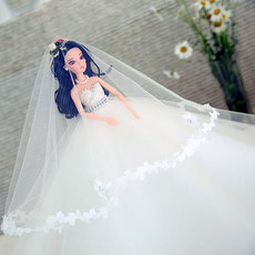 кукла Cute wedding dress doll q1688