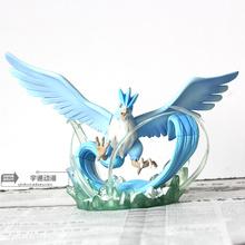 Pocket Monster Pocket Monster Pokemon frozen bird scene, hand model ornaments, peripheral gifts