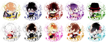 DIABOLIK LOVERS ħ����� 44MM�Ĥ���� 10����