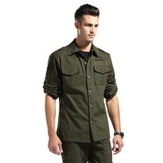 Рубашка милитари Army wild Bank cy103