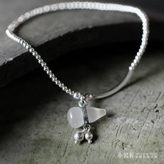 Цепочка на ногу Small silversmith jl231/48