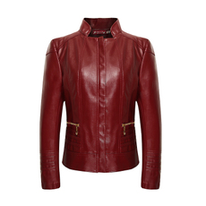 Leather jacket OTHER n818
