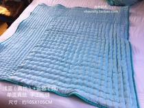 Special light blue pure silk hand quilting baby was small was napping of children being
