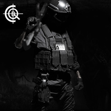 Куртки, костюмы для военного обучения C.Q.B