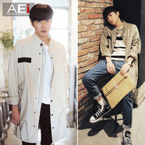 Korean version of the trend of the collar students teenagers loose clothing