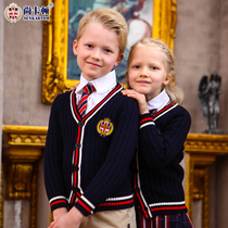 (Shang Kadun) British kindergarten serving primary school uniforms clothing spring suits fall winter garden clothes new