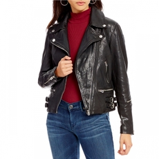 Leather jacket True Religion q02189131