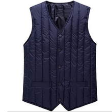 Autumn and winter new vest solid shoulder