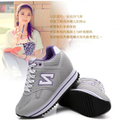 2014 autumn casual sneakers Korean alphabet n n wild shoes Korean version of the trend of the word increased in the student's shoes
