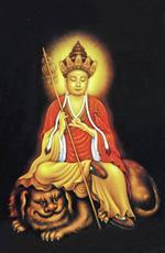 Религиозный портрет Очистить Храм Цзинь Ву