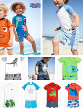 British NEXT authentic baby boy, boy swimming beach hotspring sun protection Children Swimming Suit Swimsuit
