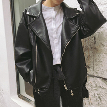 Spring new women's locomotive loose student jacket