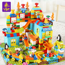 Ibsen Building Block Toy Children 3-6 Years Old Boys and Girls Yizhi Granule Assembly 8-10 Building Block Table Lego