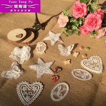 Separate Tables DIY handmade clothing sewing accessories lace cloth stickers fashion hand-sew patches applied