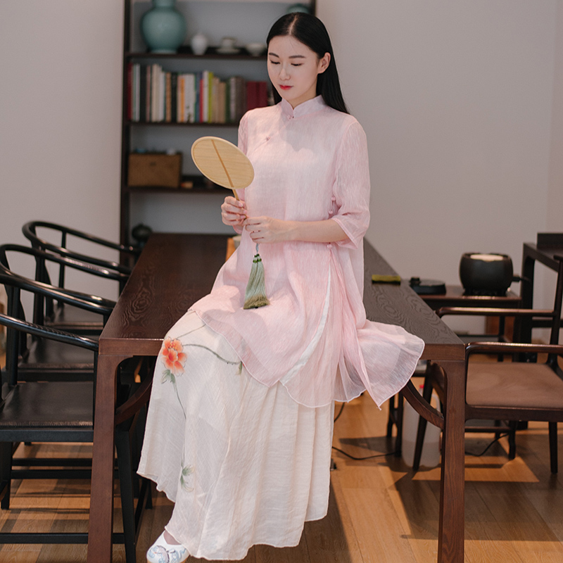 Блузки В Китайском Стиле В Волгограде