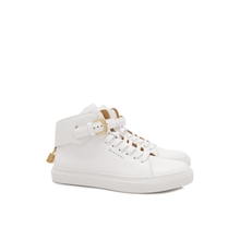 Buscemi high men's shoes men help small buckles leather sneakers