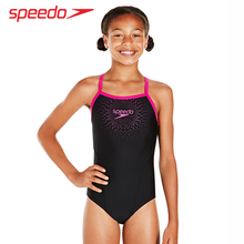 SPEEDO children's swimsuit girls in the baby triangle tribe wear training professional swimsuit