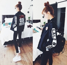 Spring and autumn Korean trendy BF large bomber