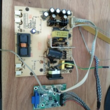 Create a set of m2270-v9 of pc61183d drive mainboard of 19am display power board