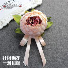 Свадебная бутоньерка Sun Xiaomei
