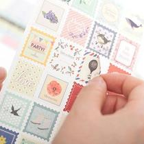 �M28���] Floral deco sticker set�b��N�� DIY��ӛ�N�� 8����