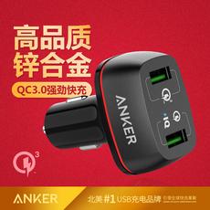 Apple автомобильное ЗУ Anker QC3.0/QC2.0 USB