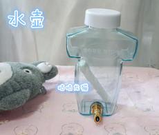 包邮~gudu咕嘟静音防啃咬撞针水瓶280ml龙猫兔子鹦鹉水壶水嘴