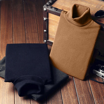 Turtleneck pullovers slim thickening base for fall winter shirt