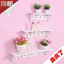 Creative home decoration garden wall partition shelf wall hanging wall shelf shelf shelf shelf shelf shelf